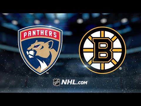 Panthers top Bruins, 4-2, in season finale