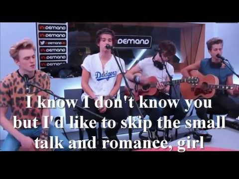Can We Dance - Acoustic LYRICS - The Vamps