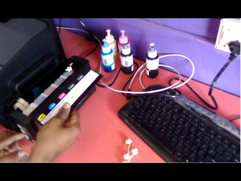How To Fill Ink & Install All Epson Color Printers