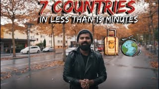 7 Countries in Less Than 15 Minutes || Daniyal Sheikh