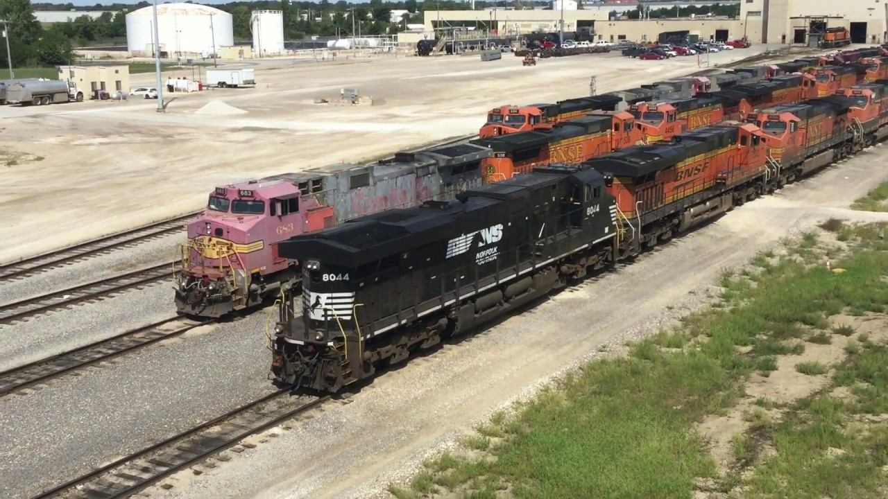 Railfanning in the Galesburg, IL area: The Galesburg BNSF yard and Cameron,  IL (2/4) 09/07/19