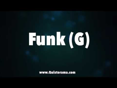Funk Backing Track - Prince Style (G)