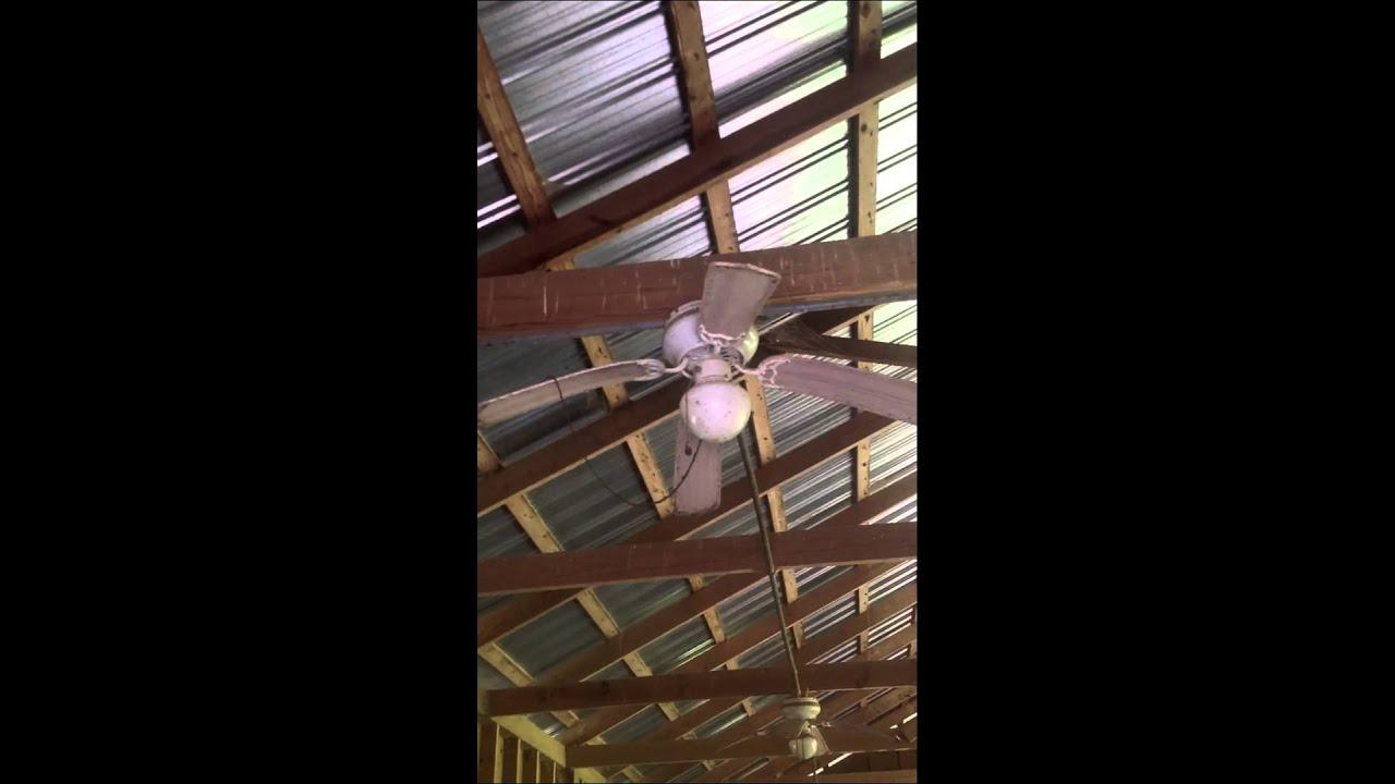 Unknown Hugger Ceiling Fan Youtube