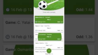 Betting Tips App(Daily free betting tips for various sports like football or tennis The user is able to calculate the total odd for selected matches. The tips are carefully selected for a ..., 2017-01-16T10:11:41.000Z)