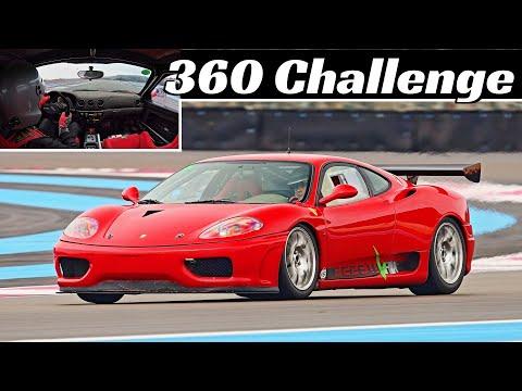 The Ferrari 360 Sounds Best in Challenge Racing Trim