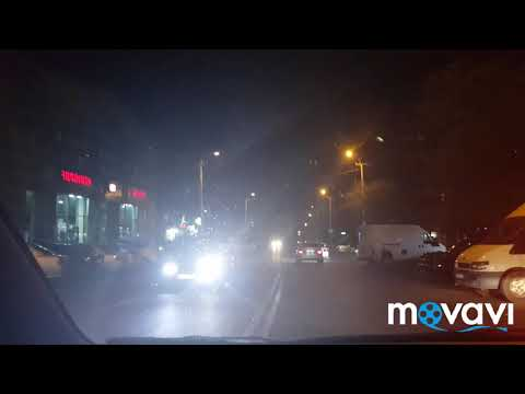 Ночью по районам Еревана ! Малатия-Себастия, Ленинградян , Адмирал Исаков . Две аварии в Ереване.