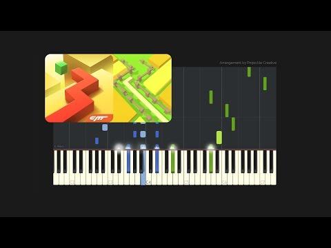 Dancing Line - The Plains // Custom Arrangement (Synthesia Tutorial + MIDI + PDF)