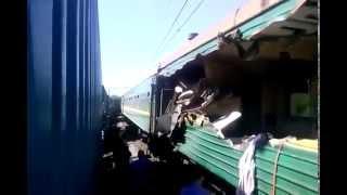 СТОЛКНОВЕНИЕ ПОЕЗДОВ, новости дня сегодня, последние новости россии сегодня, авария поездов видео
