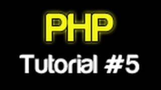 PHP Tutorial 5 - Variables (PHP For Beginners)