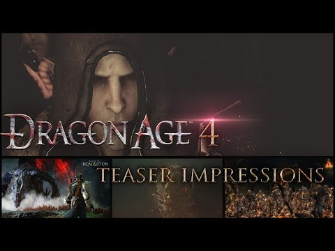 Dragon Age 4 🐺Dread Wolf Rises Teaser First Impressions/Story Predictions - The Game Awards 2018