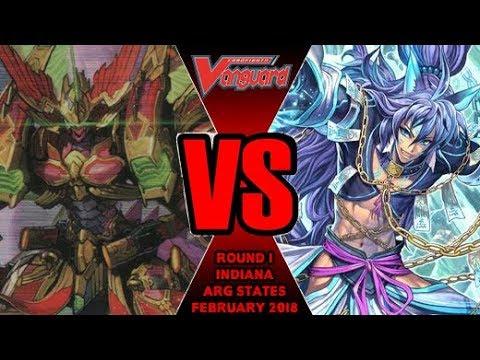 Wiseman Loop Vs Kagero Overlord - Cardfight Vanguard ARG Indiana States February 2018