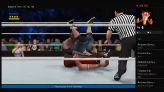 Wwe 2k17 Episode 121: Passing through Gravity. Continue up the rankings.