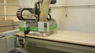 Une découpe bois avec commande numérique