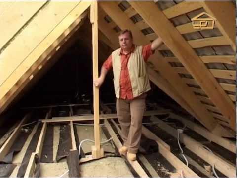 12. Теплоизоляция крыши дома - Строить не перестроить