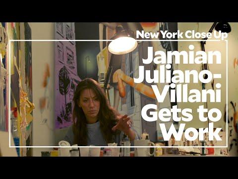 "Jamian Juliano-Villani Gets to Work | Art21 ""New York Close Up"""