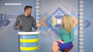 Анастасия Иванова в программе Music Box News