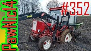 Rozsiewanie Polifoski 6 pod groch [Wtopa-głupota] - Życie zwyczajnego rolnika #352
