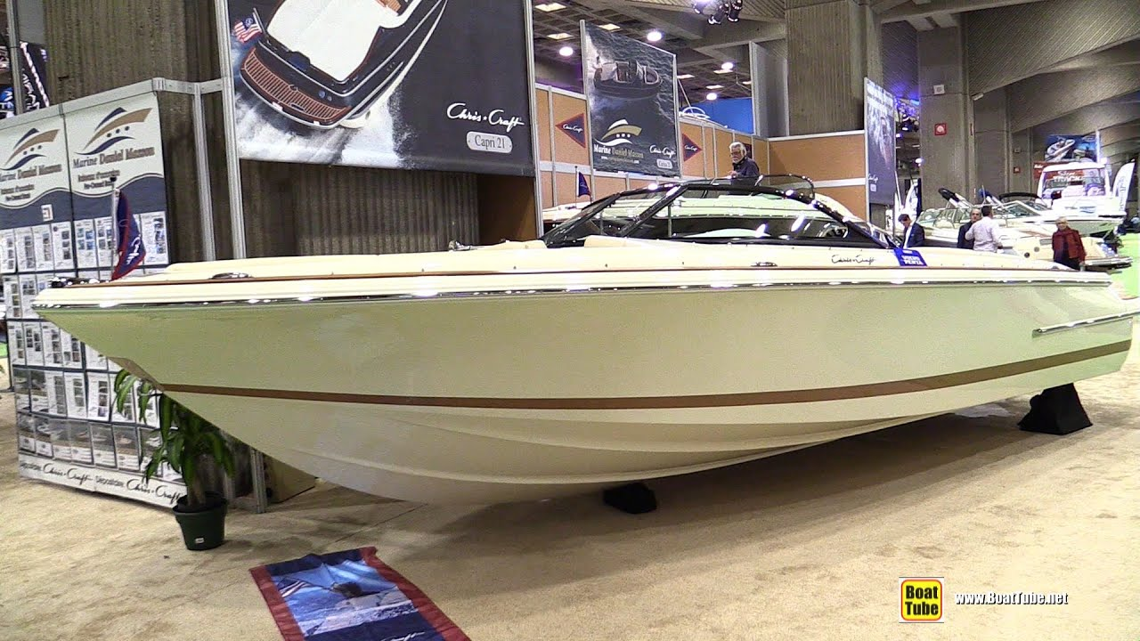 2015 Chris-Craft 22 Launch - Walkaround - 2015 Montreal Boat Show