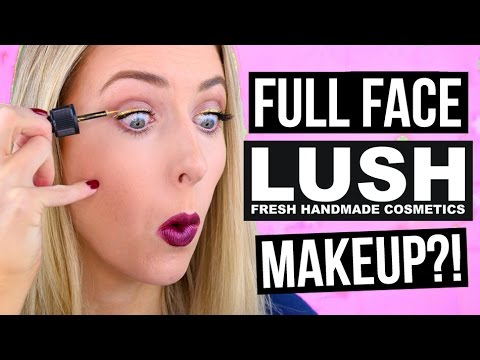Lush makeup review