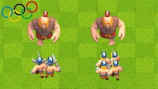 BROTHERS in the OLYMPICS CLASH ROYALE #3