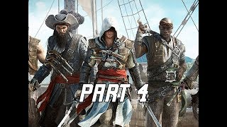 Assassin's Creed 4 Black Flag Walkthrough Part 4 - Captains (PC AC4 Let's Play)