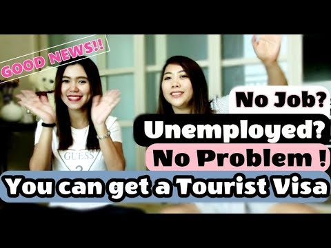 Tourist Visa Requirements For Unemployed| Jobless Part 1 √