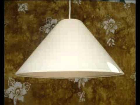 Pantalla para l mpara en tela 69 youtube - Pantallas de lamparas ...