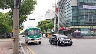 [대양운수] 동두천시 시내버스 4번 (동두천터미널.롯데…
