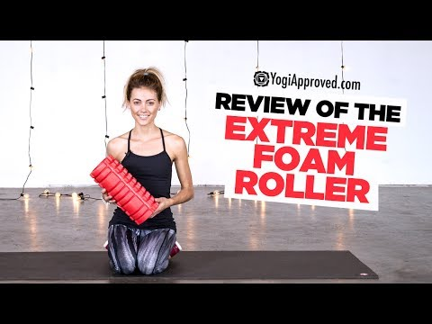 Review of the Extreme Foam Roller from Epitomie Fitness | YogiApproved