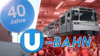 40 Jahre U-Bahn in Wien | Fest 2018