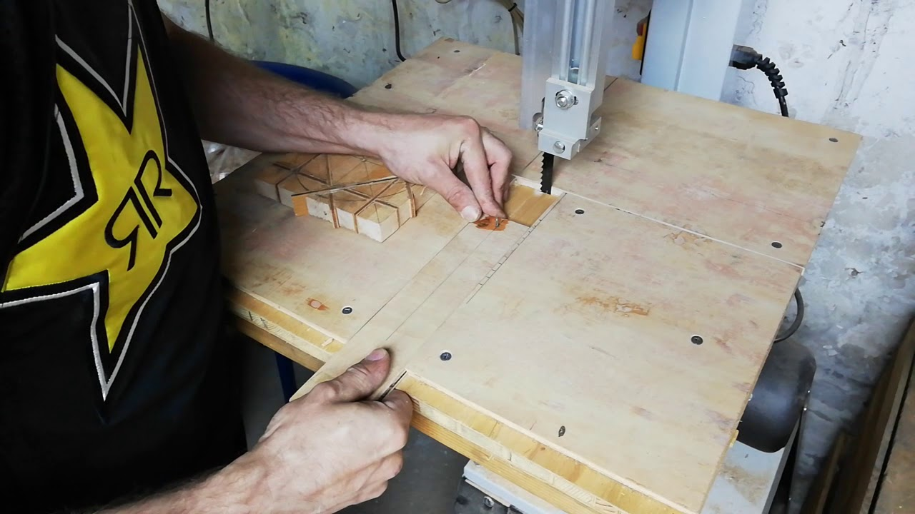 Circle cutting jig - Testing