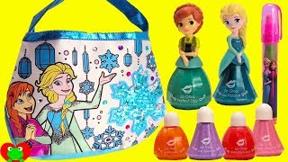 Disney Frozen Anna and Elsa Color and Design Your Own Purse