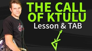vuclip How To Play The Call Of Ktulu On Guitar Lesson & TAB #1 Metallica Tutorial