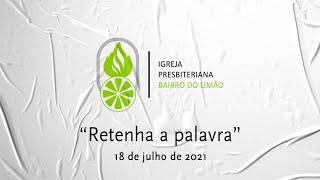 RETENHA A PALAVRA - LUCAS 8.4-15