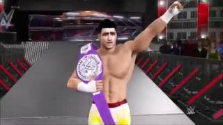 WWE 2K17 Community Showcase - Cruiserweight Championship - Ft. TJ Perkins