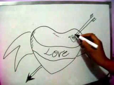 Graffiti Hearts Sketches