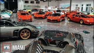 The World's MOST EXPENSIVE Supercar Showroom!