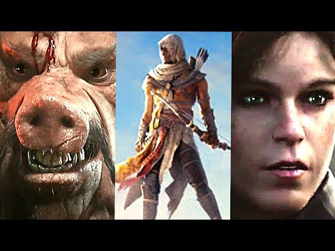 E3 2017 : Best UBISOFT Games Trailers (Conference Highlights Compilation)