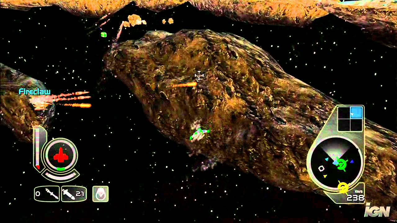 Wing Commander Arena Xbox Live Gameplay Shoot Those Youtube