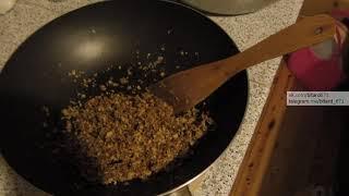 Гранола - Жареная овсянка с сахаром и маслом