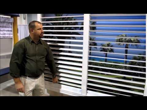Plantation Shutters from Comfortex - Experimental Design - Not For Sale