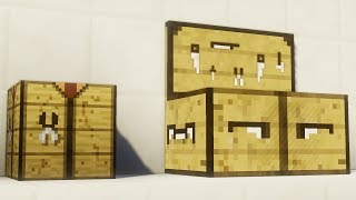 THE NEW MINECRAFT CRAFTING TABLE!! (New Crafting Recipes)