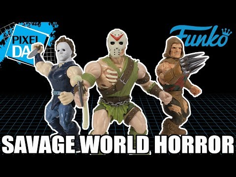 Savage World Horror Icons Funko Figures  Review
