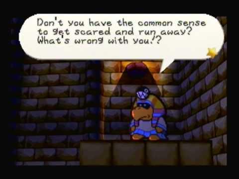 (013) Paper Mario 100% Walkthrough - Boss: Tutankoopa