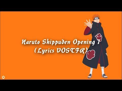 Naruto Shippuden Opening 7 Lyrics VOSTFR