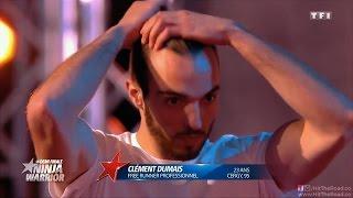 Clément Dumais - Best of Ninja Warrior France 2016 TF1 (saison 1)
