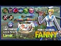 Fanny without Bloodlust Axe & Any Damage Items? Limit.채빈 Top 1 Global Fanny ~ Mobile Legends