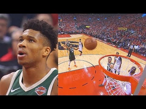 Giannis Embarrasses Himself Again With Airball Free Throw & Raptors Crowd Taunts Him In Game 4!