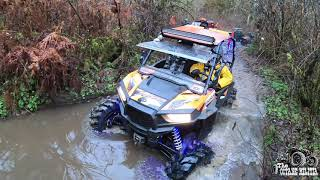 &quotHELL OR HIGH WATER&quot...gnarly UTV trail riding through some DEEP, WET and MUDDY tr ...