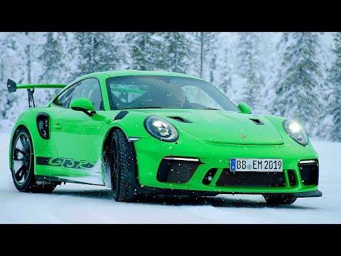 Porsche 911 GT3 RS (2018) Test Drive On Snow
